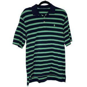 Ralph Lauren Polo Shirt Striped Short Sleeve Logo